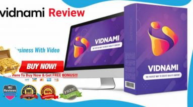 Vidnami  Review & Demo -🛑#Vidnami 14 Day Free Trial +25% Special OFF🛑🎁(100 +Premium Bonus Package) 🎁