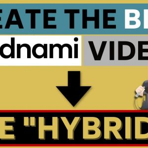 """The Best Way to Make Vidnami Videos - the """"Hybrid"""" Technique!"""
